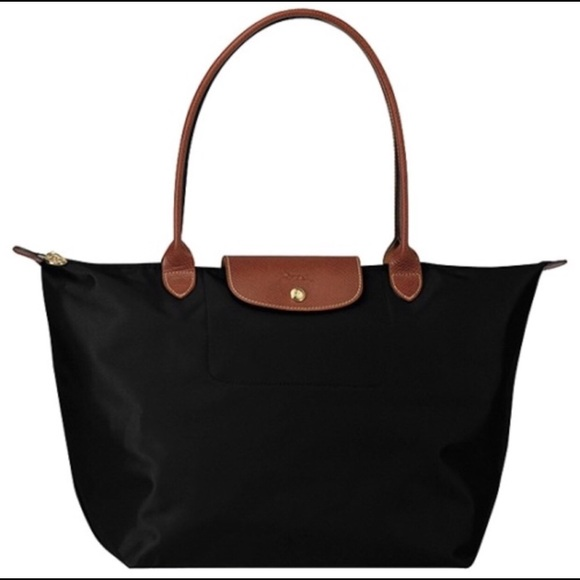 21fe86d065ce Longchamp Handbags - Longchamp Le Pliage Large Tote Black. New!